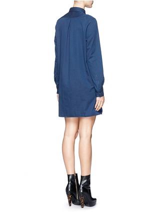Back View - Click To Enlarge - Acne Studios - 'Lyric' denim shirt dress