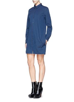 Figure View - Click To Enlarge - Acne Studios - 'Lyric' denim shirt dress