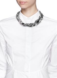 ASSAD MOUNSERMulti chain strass necklace
