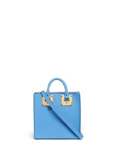 Sophie Hulme 'Albion Square' leather box tote
