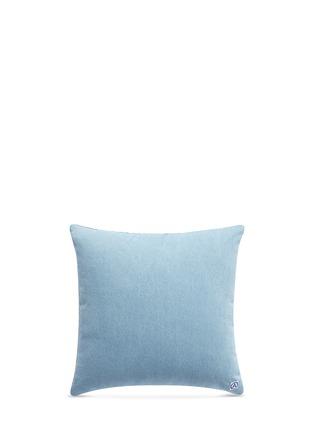 - Album - 'A' logo vintage denim patchwork cushion