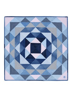 Album Stripe vintage denim patchwork quilt