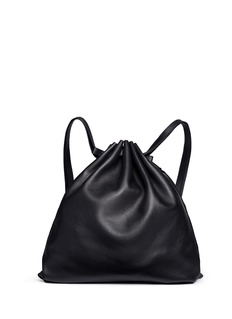 Alexander Wang  Bovine leather gym sack