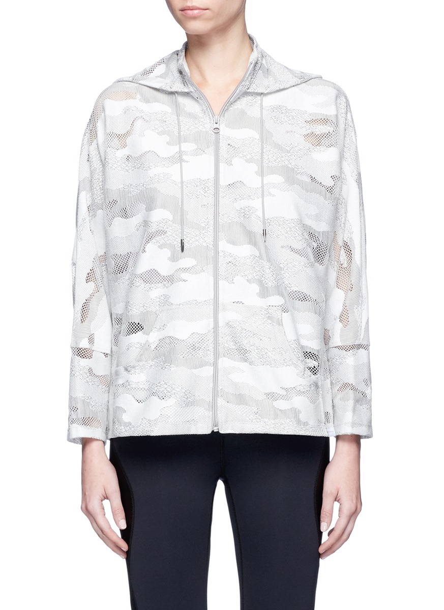 Descender camouflage lace drawstring jacket by KORAL