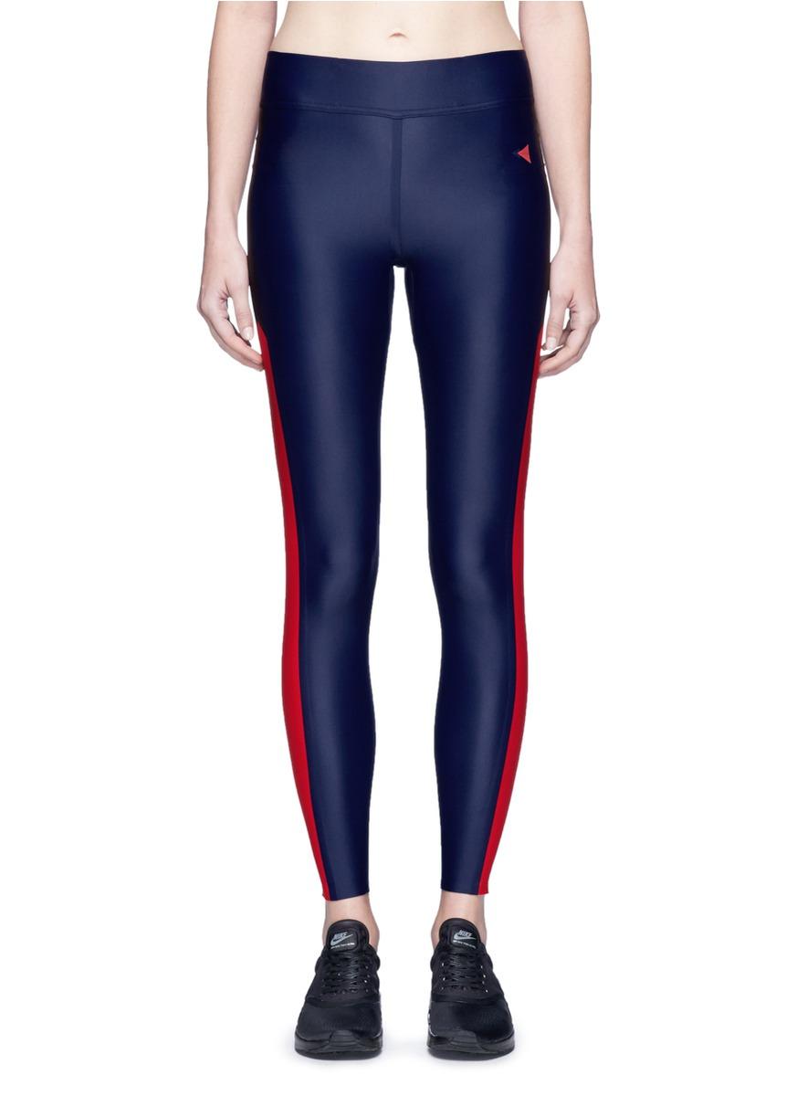 Bianca contrast stripe performance leggings by Laain