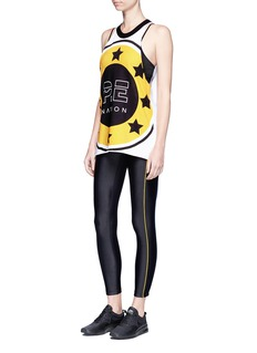 P.E Nation 'The Rock' contrast piping performance leggings