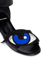 'Oh Roy' eye appliqué leather sandals