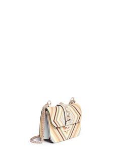 VALENTINO'Native Couture 1975 Rockstud Lock' small leather chain bag