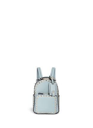 Main View - Click To Enlarge - Valentino - 'Rockstud' mini leather backpack