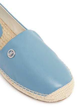 Detail View - Click To Enlarge - Michael Kors - 'Kendrick' leather espadrille slip-ons