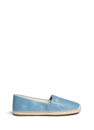 Main View - Click To Enlarge - Michael Kors - 'Kendrick' leather espadrille slip-ons