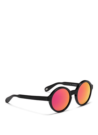 Figure View - Click To Enlarge - ANDERNE - 'Luftballons' acetate mirror round sunglasses