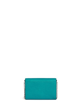 Back View - Click To Enlarge - Michael Kors - 'Jet Set Travel' saffiano leather phone crossbody bag