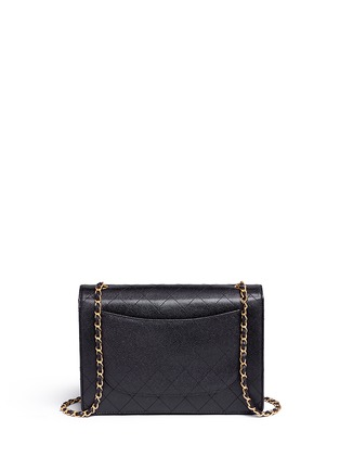 Back View - Click To Enlarge - Vintage Chanel - Jumbo caviar leather flap bag