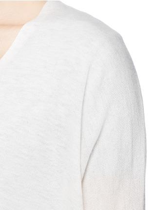 细节 - 点击放大 - Vince - Lightweight Merino wool-blend double V sweater