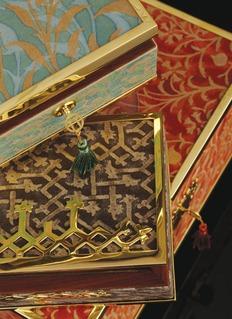 L'Objet Fortuny Rabat medium box