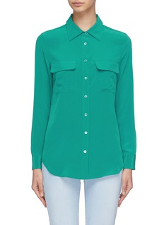 EQUIPMENTSlim signature silk shirt