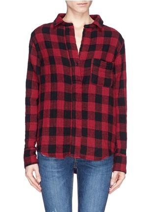 Main View - Click To Enlarge - rag & bone/JEAN - 'Leeds' plaid print muslin shirt