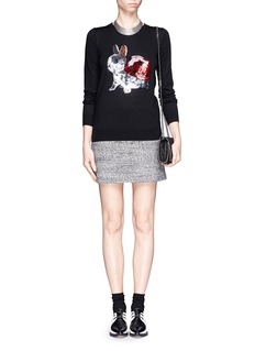 MARKUS LUPFER 'Bunny Bird' sequin Emma sweater