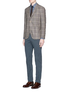Boglioli K-Jacket' Glen plaid soft blazer