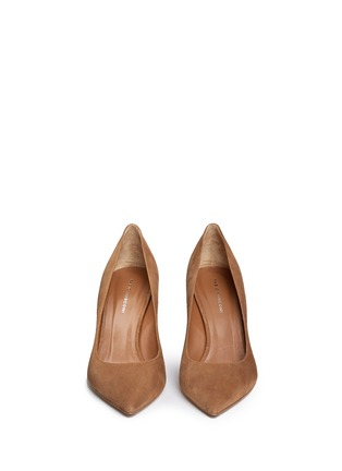 Front View - Click To Enlarge - Fabio Rusconi - 'Nataly' suede pumps