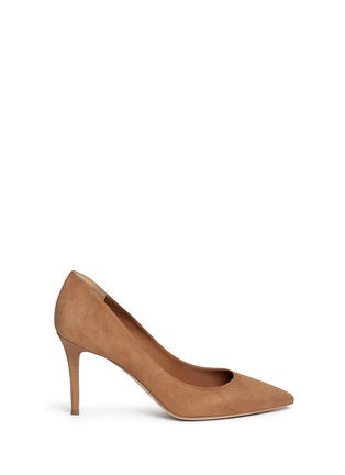 Main View - Click To Enlarge - Fabio Rusconi - 'Nataly' suede pumps