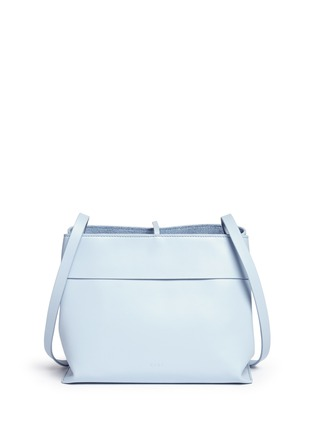 Detail View - Click To Enlarge - Kara - 'Tie crossbody' leather bag