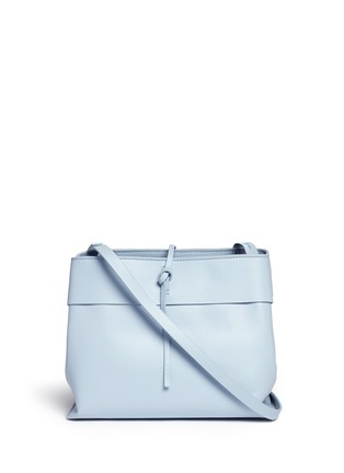 Main View - Click To Enlarge - Kara - 'Tie crossbody' leather bag