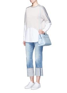 Kara'Tie crossbody' leather bag
