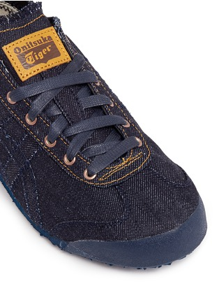 Detail View - Click To Enlarge - Onitsuka Tiger - 'Mexico 66' unisex denim sneakers