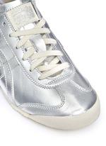 'Mexico 66' unisex metallic leather sneakers