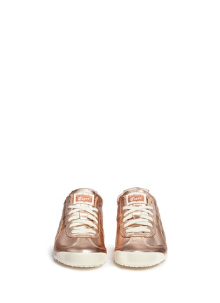 Onitsuka Tiger - 'Mexico 66' unisex metallic leather sneakers