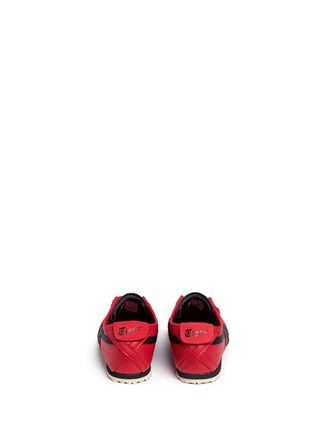 Back View - Click To Enlarge - Onitsuka Tiger - 'Mexico 66' leather kids sneakers