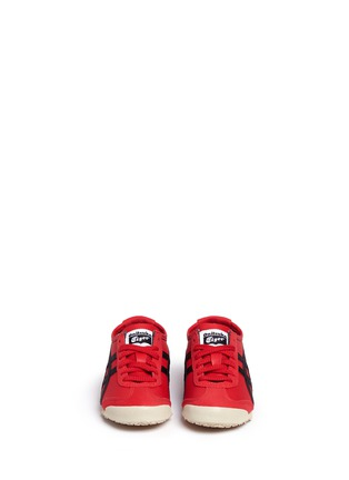 Figure View - Click To Enlarge - Onitsuka Tiger - 'Mexico 66' leather kids sneakers