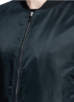 Detail View - Click To Enlarge - rag & bone - 'Manston' military bomber jacket