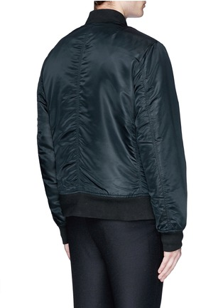 Back View - Click To Enlarge - rag & bone - 'Manston' military bomber jacket