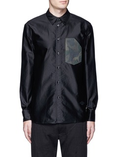 rag & bone 'Contractor' camouflage print pocket shirt