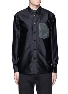rag & bone'Contractor' camouflage print pocket shirt