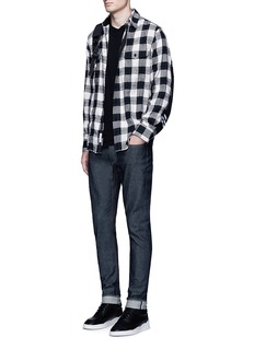 rag & bone 'Jack' brushed buffalo check shirt