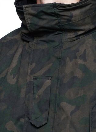Detail View - Click To Enlarge - rag & bone - 'Ezra' camouflage print detachable liner parka