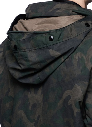 - rag & bone - 'Ezra' camouflage print detachable liner parka