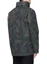 'Ezra' camouflage print detachable liner parka