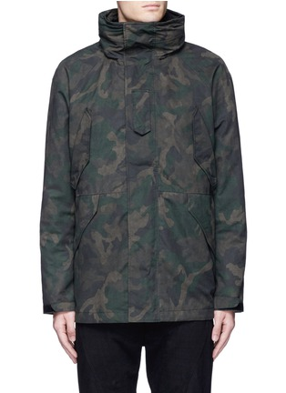 Main View - Click To Enlarge - rag & bone - 'Ezra' camouflage print detachable liner parka