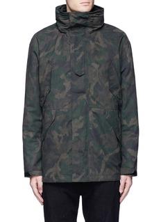 rag & bone'Ezra' camouflage print detachable liner parka