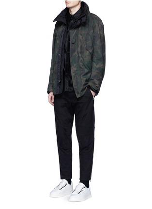 rag & bone-'Ezra' camouflage print detachable liner parka