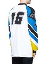 'Optical Moto' print sweatshirt