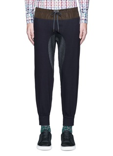 kolorContrast gusset jogging pants