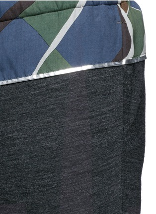 Detail View - Click To Enlarge - kolor - Camouflage print waist jogging pants