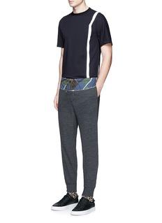 kolorCamouflage print waist jogging pants