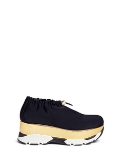 Marni Tech fabric patent platform sneakers